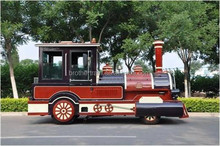 Fun tourist road train !Medium type diesel tourist road trains for adults in sale