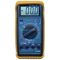 DIGITAL LCD MULTITESTER VOLTMETER AMMETER BUZZER AC DC MULTIMETER CIRCUIT TESTER TEMPERTURE TESTER FREQUENCY TESTER DT9205B