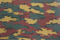 EN11611 certification 360gsm 100 cotton flame retardant camouflage uniform fabric