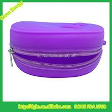 Top grade best selling cute travel silicon purse for girl