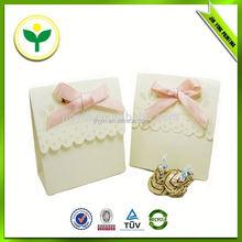 2014 popular best price craft wedding candy boxes