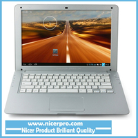 13.3 inch Air Laptop Android Notebook 1366*768 HD VIA8880 Dual Core 1G/8G Android 4.2 Camera