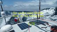 высокая эффективность 18w гибкие панели солнечных батарей с подключением коробки передней стороне и 0,9 м кабель, зарядка для батареи 12v