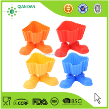 Wholesale Various Colors Of Cartoon Cup Feet Silicone Cupcake Mold Kit