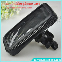 Mount Holder Phone case for samsung galaxy note 3 for iphone 6 plus bicycle bike mount case for cellphone under 5.7inch