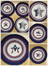 OEM direct factory 100% Natural jute fiber braided Star printed pattern welcome mat or rug