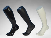 long leg of male foot mannequin, white or black , foot fiberglass mannequin manufacturer