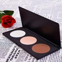 Big Discount!Bestselling 3 Color Professional Contour Blush Cosmetic Makeup Palette Powder Makeup Set