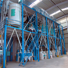 50 tpd maize flour mill with CE for sale