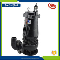 High pressure 10m3/h electric submersible water sewage pump