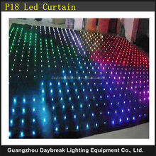P18 Vision Curtain / LED Video Curtain Light Led Stage Backdrops ( sizes can be customized )