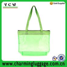 PVC Colorful Medium Size Clear Tote Bag/ Shoulder Bag/ Shopping Bag