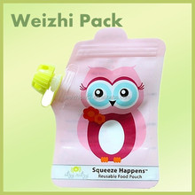 Hot sale! Top Grade plastic baby loved milk juice stand-up pouch