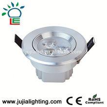 2015 Long life span and energy saving with aluminium 7w led gu10 warm white AC85-265V 25W LED Epistar COB led down light