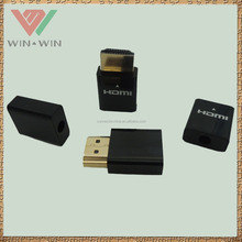 Assembly HDMI type A male connector with 4.9mm OD