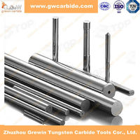 2015 hard alloy rods ground tungsten carbide bar price with hole