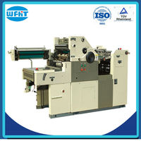 HT56ANP one color magazine printing machine plus numbering
