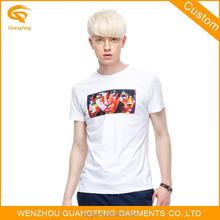 China Supplier Short Sleeve Wholesale White No Brand T Shirt