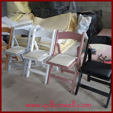 Hot Popular Style solid color folding chair overstocks for Party and Wedding
