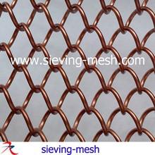 de moda y durable de la chimenea de la cortina de metal