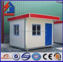 Prefabricated guard house, sentry box store for sale with sandwich panel