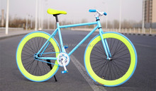Single Speed Road Bike Large Fixie Fixed Flat Bar bicycle KB-700C-M1024
