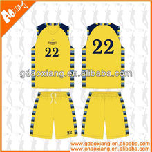 A-league quality Sublimation Newly Basketball practice shirt