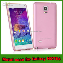 Cell Phone Metal case for samsung galaxy note 4 hot cover