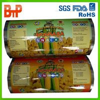 customized printed film in roll