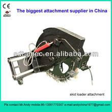 skid steer loader attachment disk type trencher (skid loader attachment,bobcat attachment)