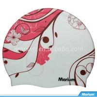 Marium Silicone Good Best Printing Swim Cap