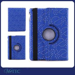 Fashion rhinestone tablet case 360 degree rotate case for ipad