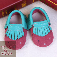 whoelsale fashion 2015 baby musical shoes soft sole cute pattern leather baby shoes