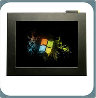 """Wireless wifi 12"""" LCD Touch Panel PC/Fanless Industrial computer"""