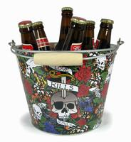 wholesale custom ice bucket metal ice bucket tin ice bucket