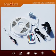 Hot sale 5meter package roll Led flexible strip kit for TV back lighting DIY quick and easy installation