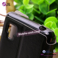 Cellphone leather case cover for iPhone 4 with high quality