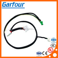 Decoder wire harness for electric auto pedal and power back door