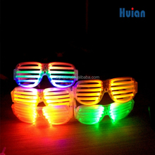 Fashion plastic led glasses,El Wire glow led party favor neon glasses,led light glasses supplies decoration