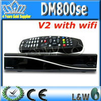 enigma 2 dvb-s2 receiver digital satellite receiver decoder DM800SE V2 PVR HD TV Sat Receiver + Wfifi