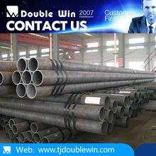 Manufacturer Weld Steel Pipe Black Welded Steel Pipe for oil / gas