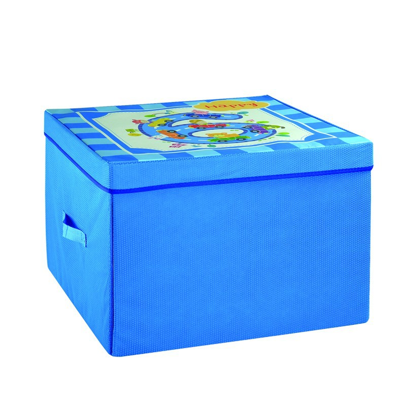 Eco Friendly Square Folding Storage Toys Box