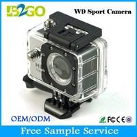 Multifunctional W9 12MP full hd 1080P helmet sport action camera