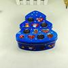 fashion decorative tree shape chocolate gift tin container