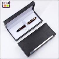 red color metal fountain pen ink pen sets with high class gift box packed and medium quality price