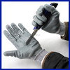 2015 China manufacturer heavy labor use safety gloves latex rubber coated working cotton safety gloves