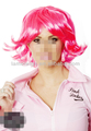 pink lady peruca fantasia fábrica direto por atacado perucas de halloween