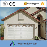 Modern Steel Electric Automatic Residential garage door With CE Certification