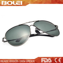 2015 vintage Hotselling Italian brand metal polarized aviator sunglasses mens