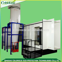 Alibaba Express Best Selling Products Manual Powder Spray Booth and Filter Recovery System of Electrostatic Powder System